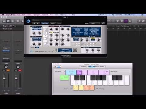 FREE Virtual Instrument For LOGIC PRO X