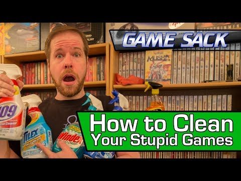 How to Clean Your Stupid Games - Game Sack