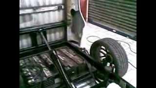 carreta basculante panda audio car