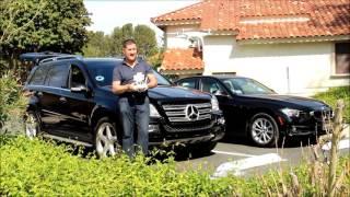 Using my Phantom 4 Pro drone to film my new Mercedes GL550 SUV. Uber SUV and Lyft Plus addition
