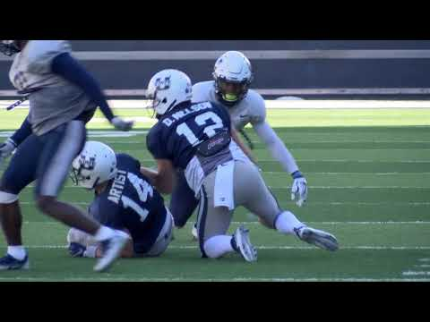 Utah State's Defense Shines During Second Scrimmage of Spring Camp Friday Afternoon
