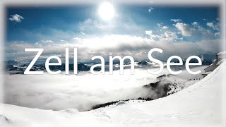 Zell am See Kaprun, Austria with snowboard and GoPro, Part 1