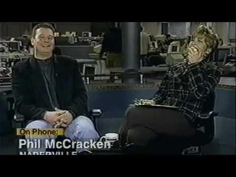 "LIVE Prank! Radio's ""Phil McCracken"" (Kevin Matthews)   Kevin Butler (Chic. Bears)   Peggy Kusinski"