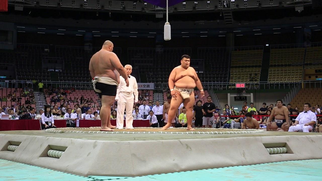 2018/07/22 世界相撲選手権 男子...