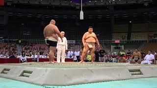 2018/07/22 世界相撲選手権 男子 団体決勝戦 ロシア-日本