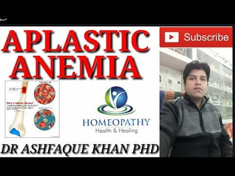 Aplastic Anemia and its homeopathic treatment.
