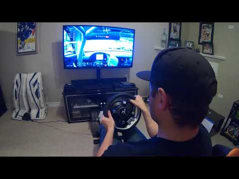 Thrustmaster T-GT Driver Perspective