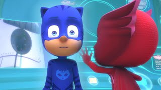 Catboy turns in to Robot | NEW | PJ Masks Official
