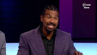 """""""I was on my feet going crazy!"""" David Haye breaks down how Kovalev v Yarde was won and lost"""