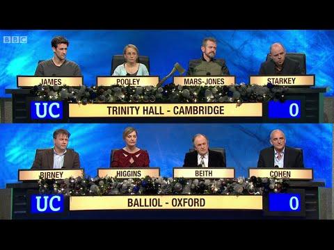 University Challenge - Christmas 2014 E05 Trinity Hall Cambridge vs Balliol College, Oxford