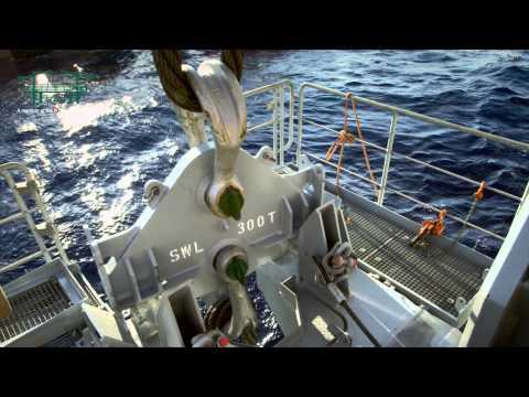 SAL: MV Lone, Installing Subsea Manifold