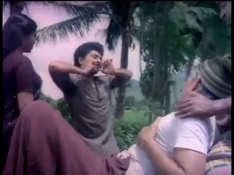 Sridhar in Manasa Veena Kannada, 1996 -Navarasas Scene