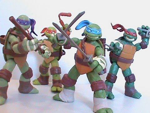 TMNT Teenage Mutant Ninja Turtles Nickelodeon 2012 Cartoon ...Ninja Turtles Toys Nick