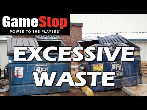 Tales from Retail: Gamestop's Excessive Waste