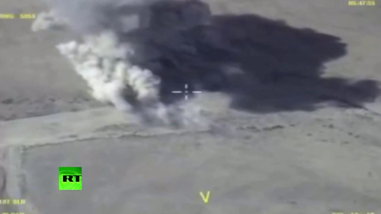 ВКС России уничтожили боевую технику террористов в районе Акербата