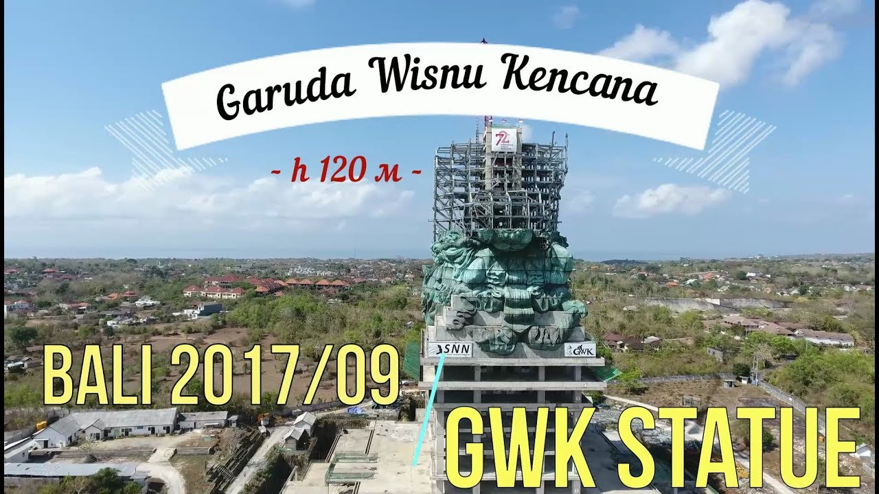 Gwk Statue Garuda Wisnu Kencana Bali Indonesia Odna Iz Samyh