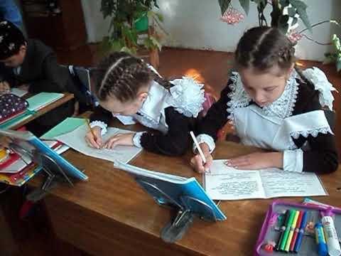 Урок татарского языка 2 класс  Учитель Ризванов
