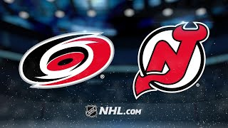 Hischier, Noesen lead Devils past Hurricanes, 5-2