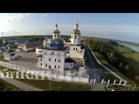 ВИДЕОЗАРИСОВКИ. Озеро Медвежье. Абалакский монастырь. Верхотурский монастырь.