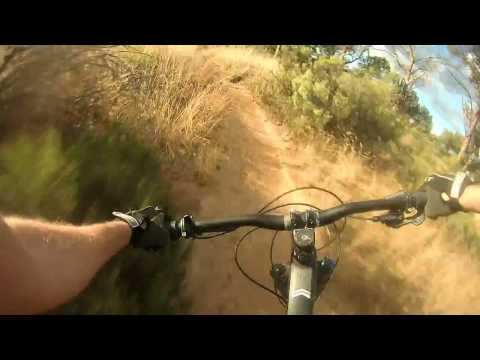 G-Spot trail from drop-in to car park. Stellenbosch. On my Giant Trance Advance 27.5