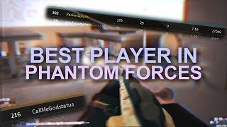 PLAYING WITH THE BEST PLAYER in PHANTOM FORCES... (roblox)