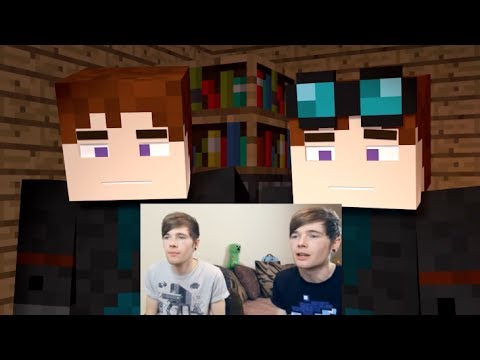 TheDiamondMinecart | MY BROTHER PLAYS MINECRAFT | CARTOON AND REALITY AT ONCE!
