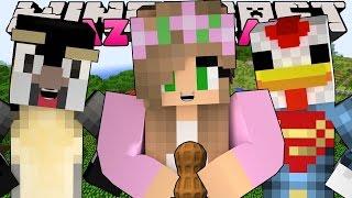 Minecraft: CRAZY CRAFT 3.0 - FINDING THE ATLANTIC CRAFTS PEANUT!