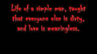 Nothing to Gein-Mudvayne (Lyrics)
