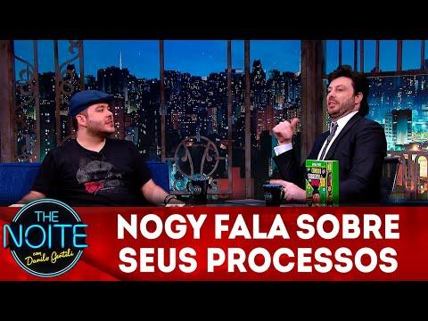 Exclusivo para web: Nogy fala sobre seus processos  The Noite 071218