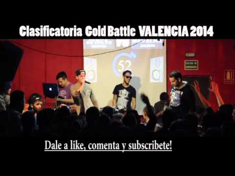 Navalha VS Hander Octavos GOLD BATTLE VALENCIA 2014