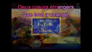 Karaoké - La belle et la bete - julie zenatti et patrick fiori.avi