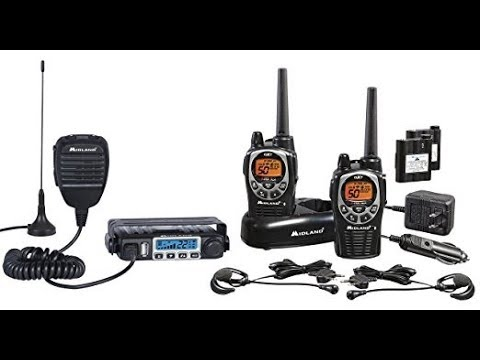 Midland Consumer Radio ORMXT115VP Micro Mobile 15W GMRS with 8 Repeater Channels & Portable 36