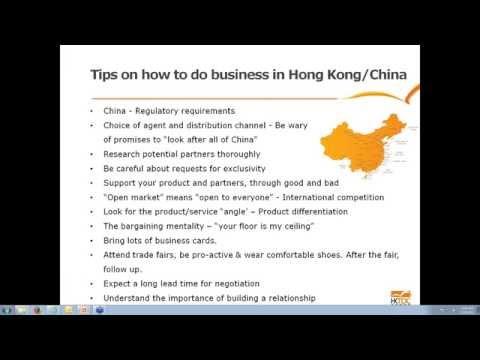 Opportunities in Asia via Hong Kong  Food - Wine Industries