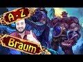 A-Z BRAUM, BESTES GAME als TANK SUPPORT | League of Legends