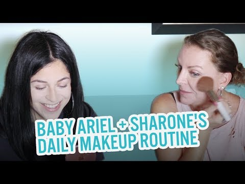 BA ARIEL AND SHARONES DAILY MAKEUP ROUTINE!!!