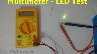 How to use Multimeter for Testing LED Bulbs - Continuity test