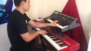 Jamiroquai - Destitute Illusions - Synths (moog and nord stage 2)