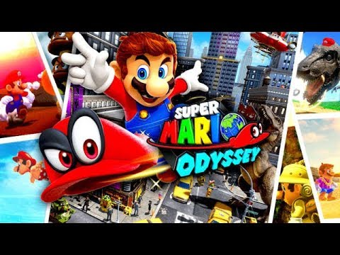 SUPER MARIO ODYSSEY All Cutscenes (Game Movie) 1080p HD