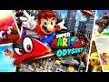 SUPER MARIO ODYSSEY All Cutscenes (Game Movie) 1080p HD