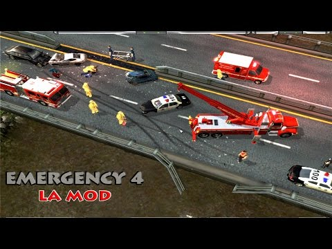 Emergency 4 LA Mod Lets Play (Episode 2) - Gas Explosion