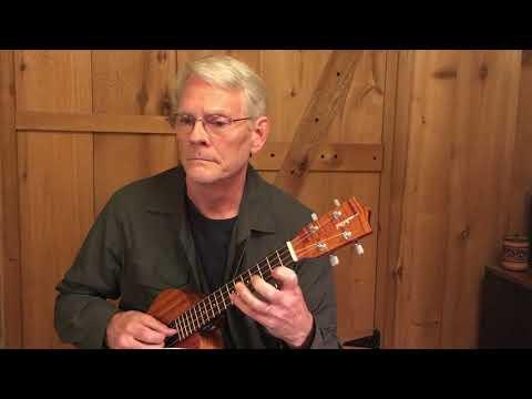 Loure from Partita 3 (BWV 1006) by J S Bach, Daniel Estrem, ukulele