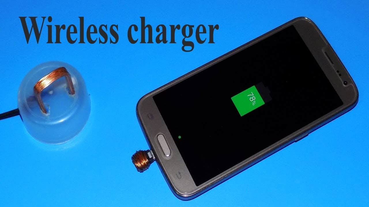 Make A Really Wireless Charger At Home Youtube