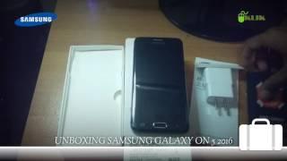 Unboxing Samsung Galaxy On5 2016 SM-G5700 Ram 3GB ROM 32GB - Indonesia