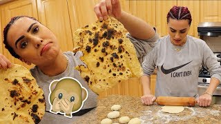 TRYING TO MAKE ROTI FOR THE FIRST TIME | BodmonZaid