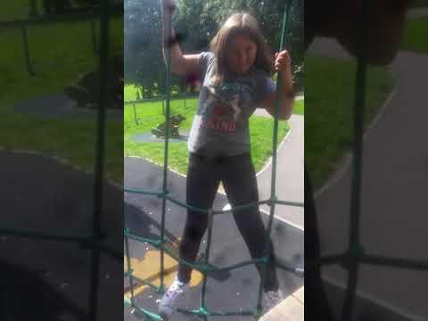 At the park dont tell ella
