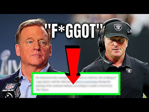 Jon Gruden Resigns As Contents From His Emails Are Revealed