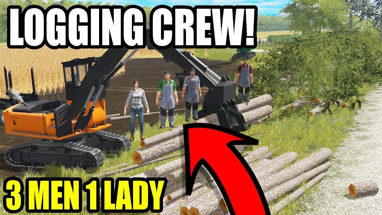 meet-the-logging-crew-wisconsin-logging-ep-5-farming-simulator-2017