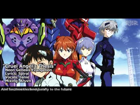 neon genesis evangelion opening theme cruel angel thesis Neon genesis evangelion opening theme lyrics toggle navigation go the cruel angel's thesis will soon take flight through the window.