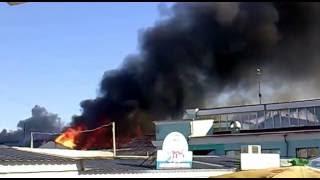Пожар на центральном рынке Чернигова 19.05.15(, 2015-05-19T06:03:49.000Z)