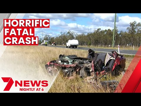 Download Police investigating fatal crash on the Warrego Highway near Dalby   7NEWS